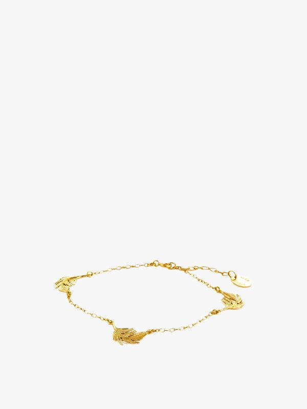 Three Feather Bracelet