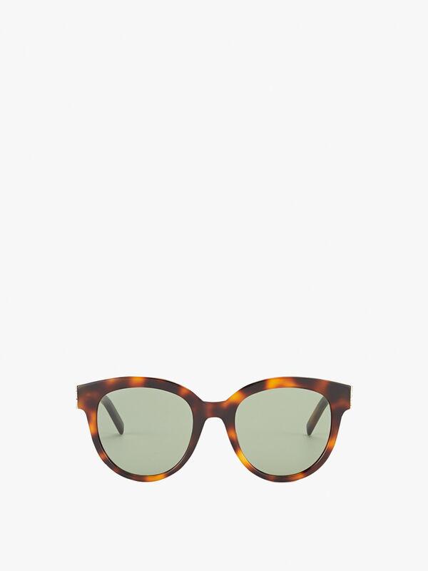 Logo Round Sunglasses
