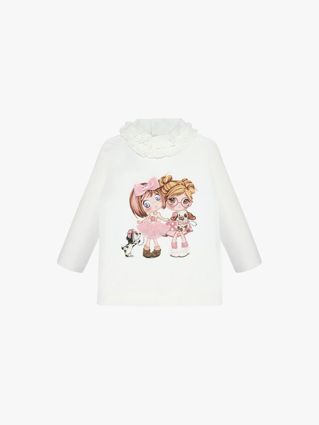 Doll Printed Top