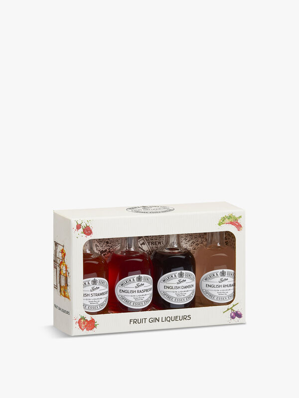 Four Mini Gins Gift Pack of 4 5cl