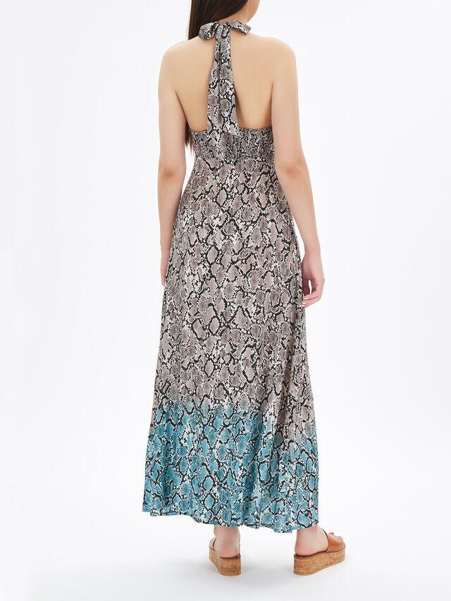Mombasa Halterneck Maxi Dress