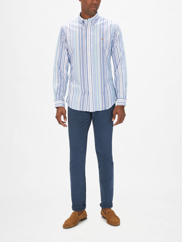 Multi Stripe Oxford Shirt