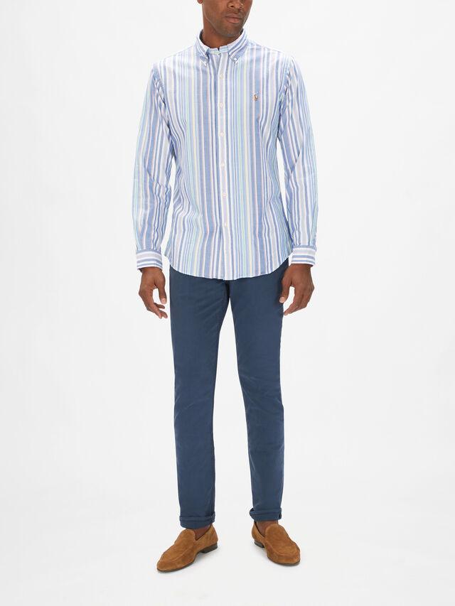 Multi Stripe Oxford Shirt