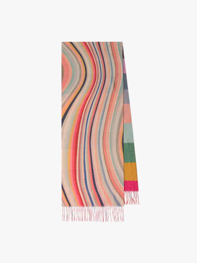 Stripe Swirl Scarf