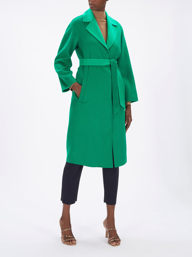 Ermanna Double Breast Belted Coat