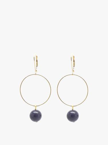 Blue Goldstone Lorna Drop Earrings