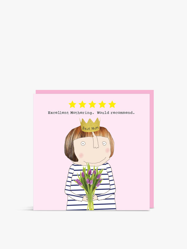 Five Star Mum Card
