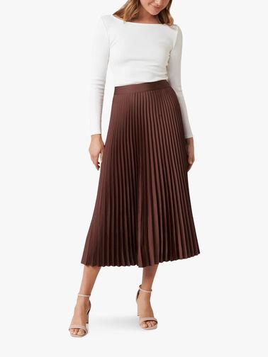 Ester-Satin-Pleated-Skirt-SK3818