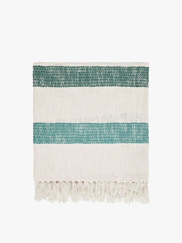 Lost Garden Stripe Throw