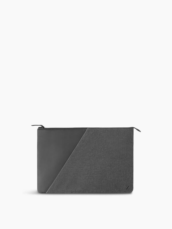 "Stow Macbook Case Fabric 12"" Slate"