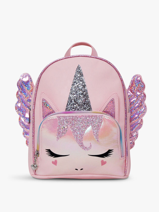 Unicorn Glitter Pegasus Mini Backpack