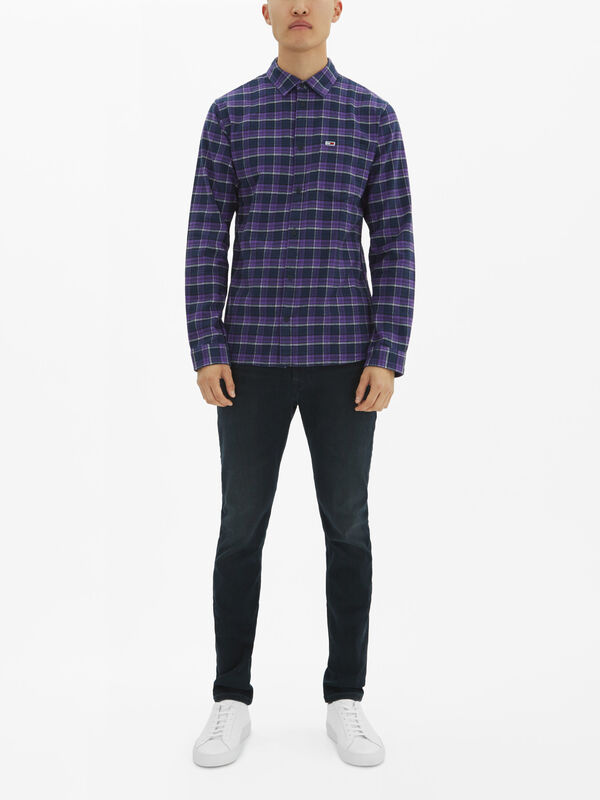 Flannel Multi Check Shirt
