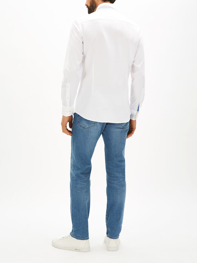 Honeycomb Textured Shirt