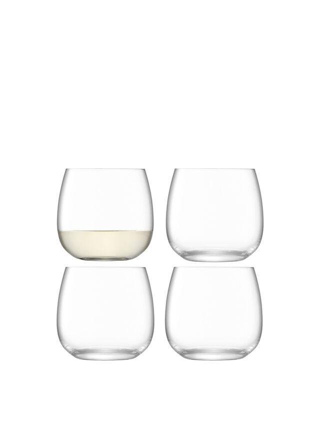 Borough Stemless Glass Set of 4