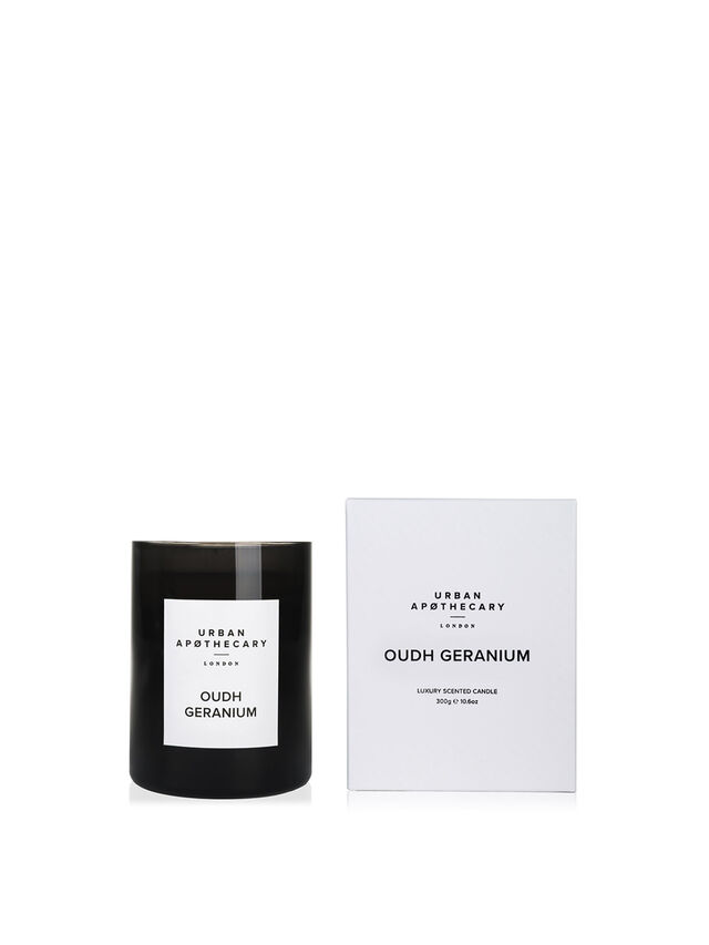 Oudh GeraniumLuxury Candle