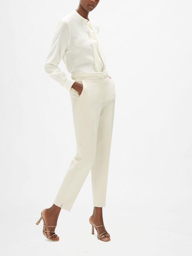 Satin Detail Trouser