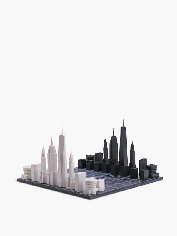 Acrylic New York Edition with Wooden New York Map Board