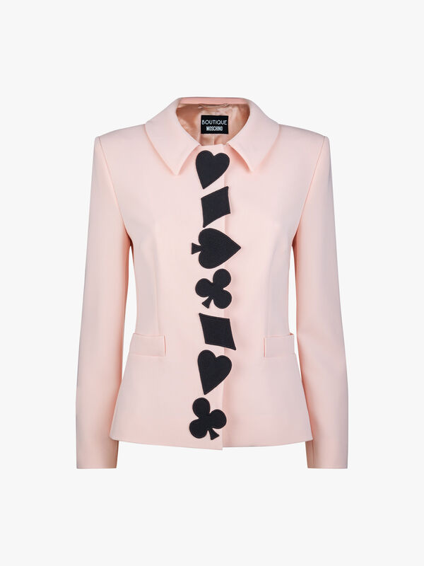 Applique Detail Blazer