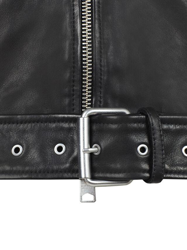 Rigg Leather Biker Jacket