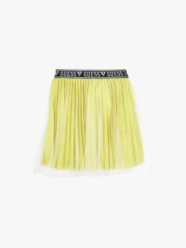 Lyrex Midi Pleated Skirt