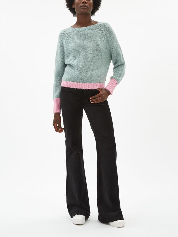 Dorothy Colour Block Sweatshirt