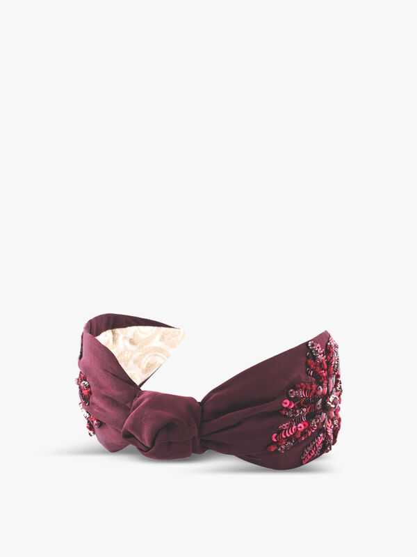 Knot Stone Headband