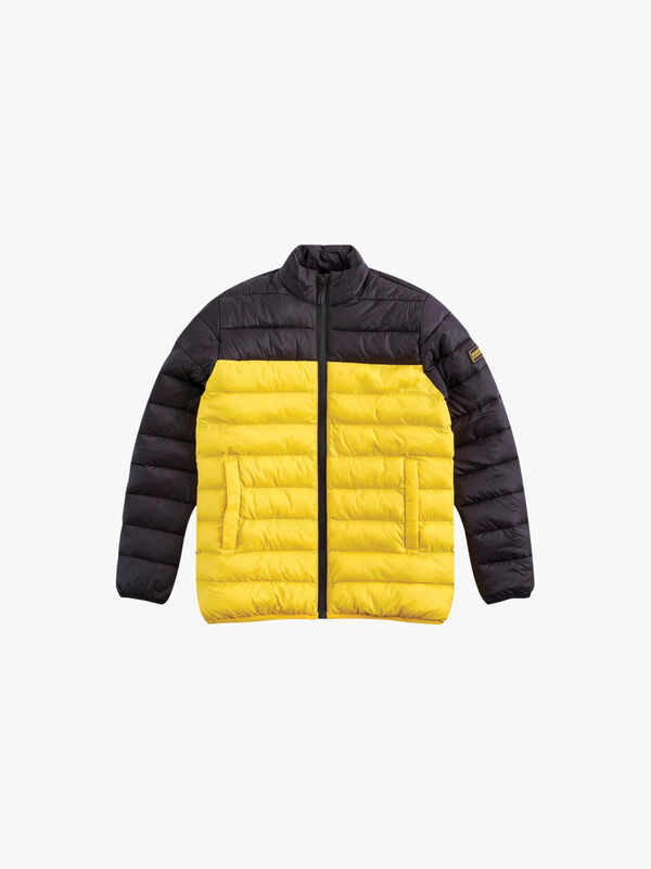 Two Tone Impeller Quilted Jacket