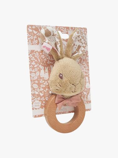 Flopsy Rabbit Signature Ring Rattle