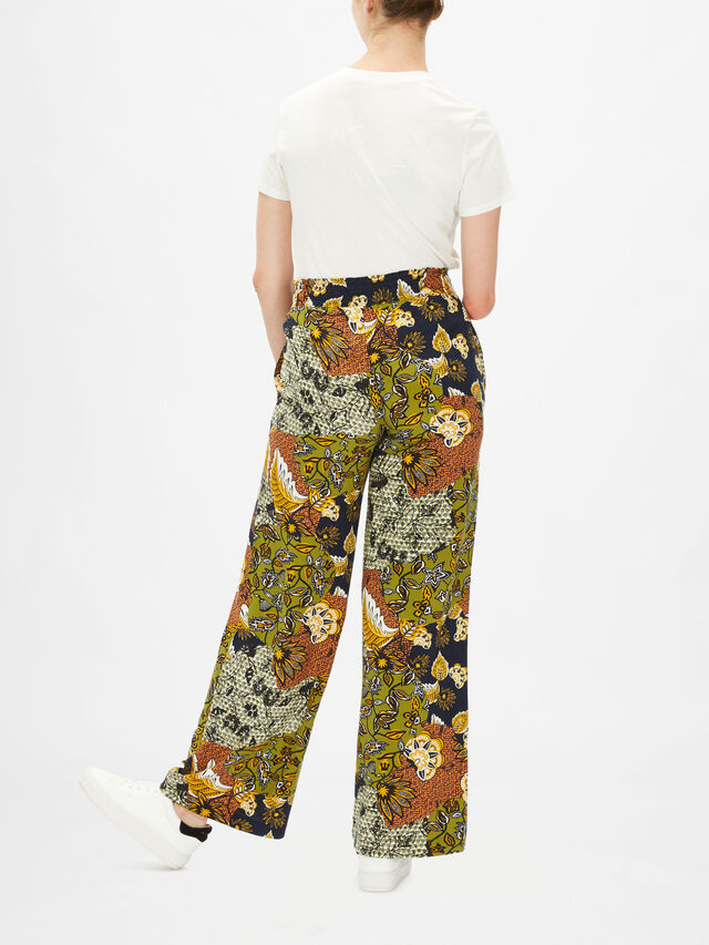 Floaty Wide Leg Trousers