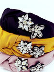 Silk Star Crystal Headband