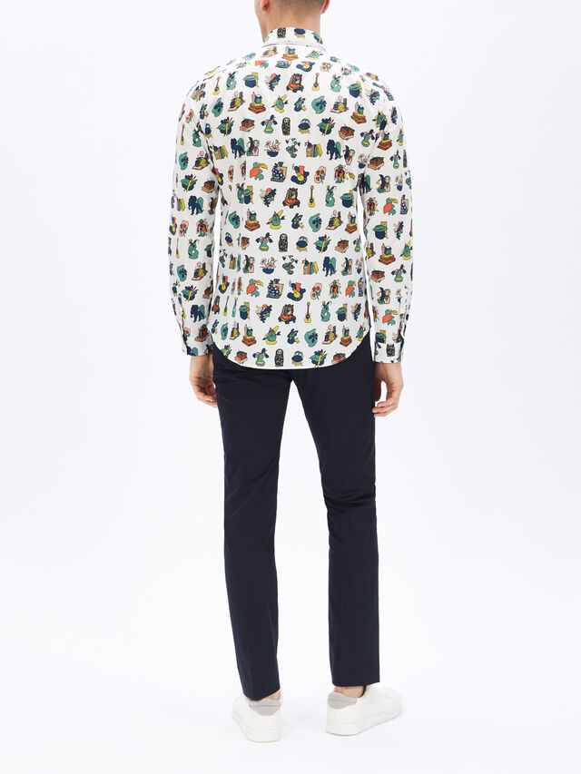 Fenwick Exclusive All Over Print Tailored Shirt