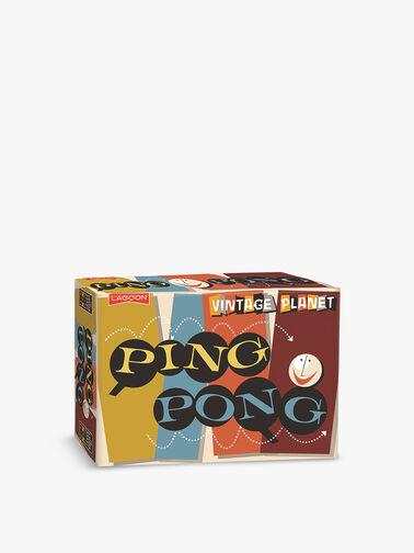 Vintage Planet Ping Pong