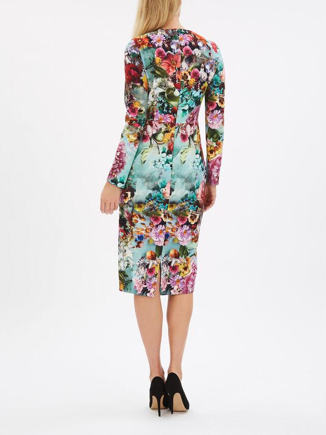 Moody Floral Maxi Dress