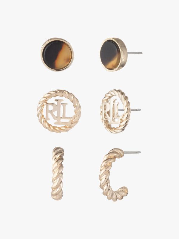 Tort Trio Earrings