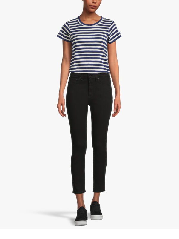 Nina High Rise Ankle Skinny Jeans