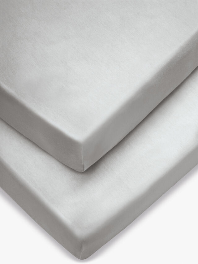 Pram Fitted Sheets- 2 Pack