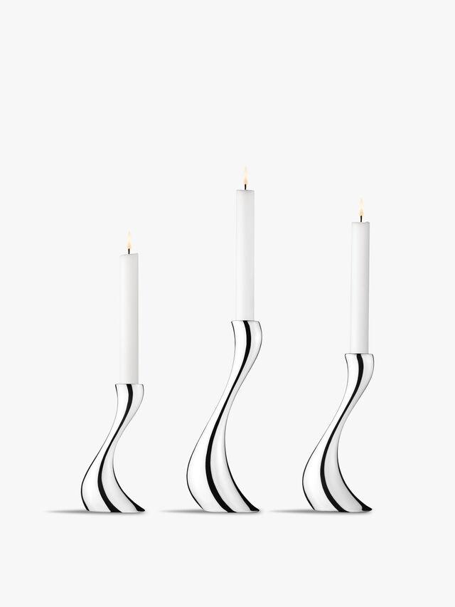 Cobra Candleholder Set of Three