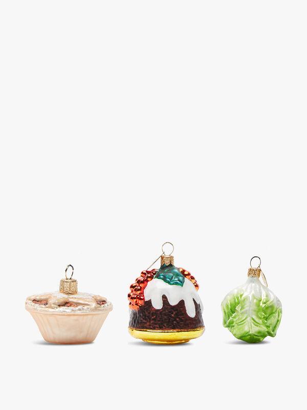 Set of Three Decorations