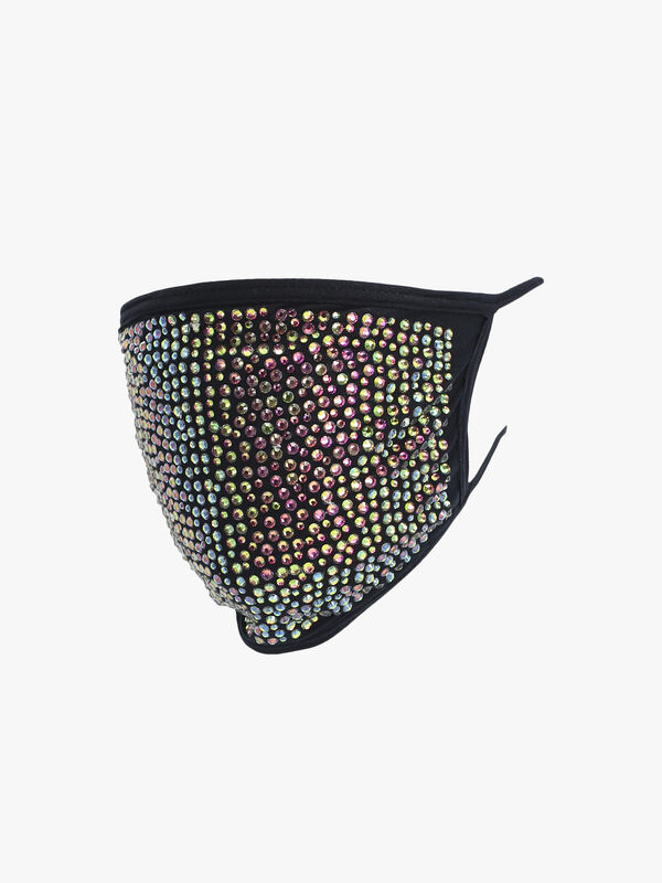 All Over Crystal Mask