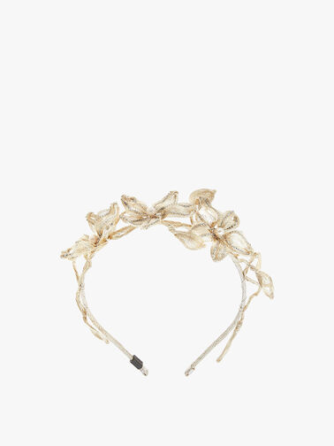 Mesh Diamond Dahlia Headband