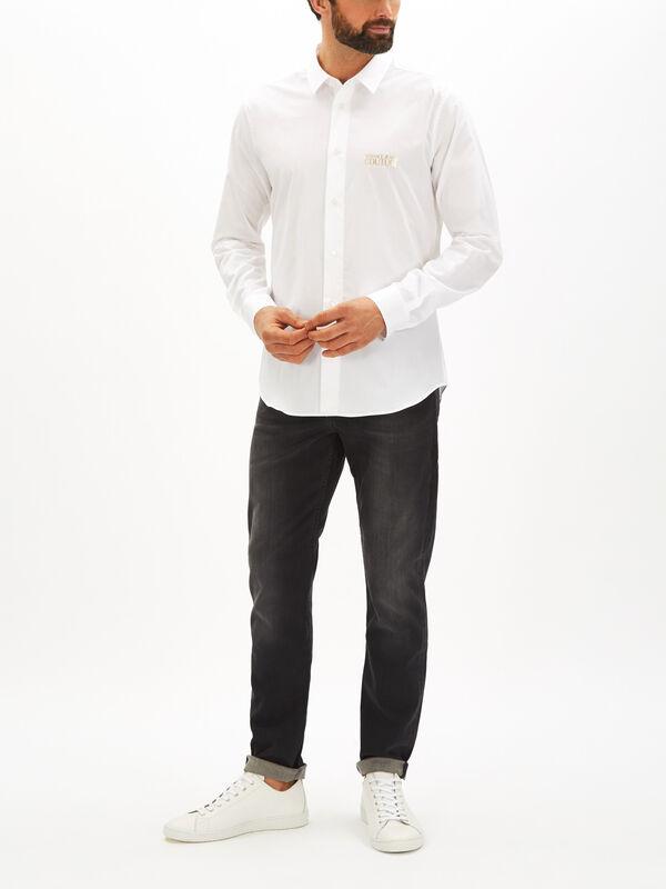 Slim Foil Logo Shirt