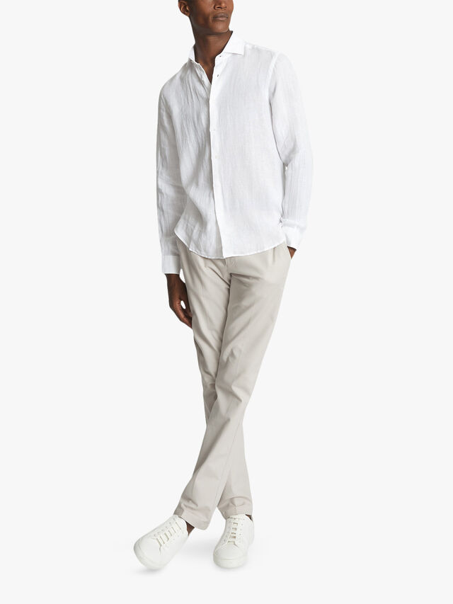 RUBAN Linen Regular Fit Shirt