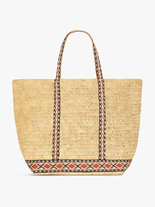 Cabas Grand Stripe Bag