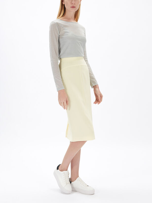 Alcazar Fitted Skirt