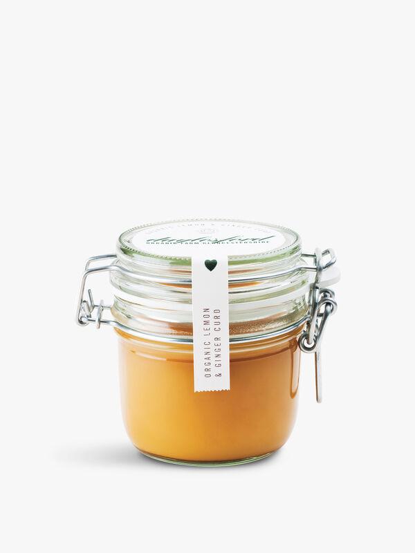 Organic Lemon & Ginger Curd 227g
