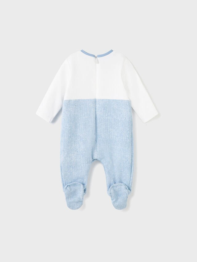 All In One Dungaree Babygrow