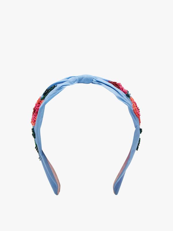 Beaded Floral Headband