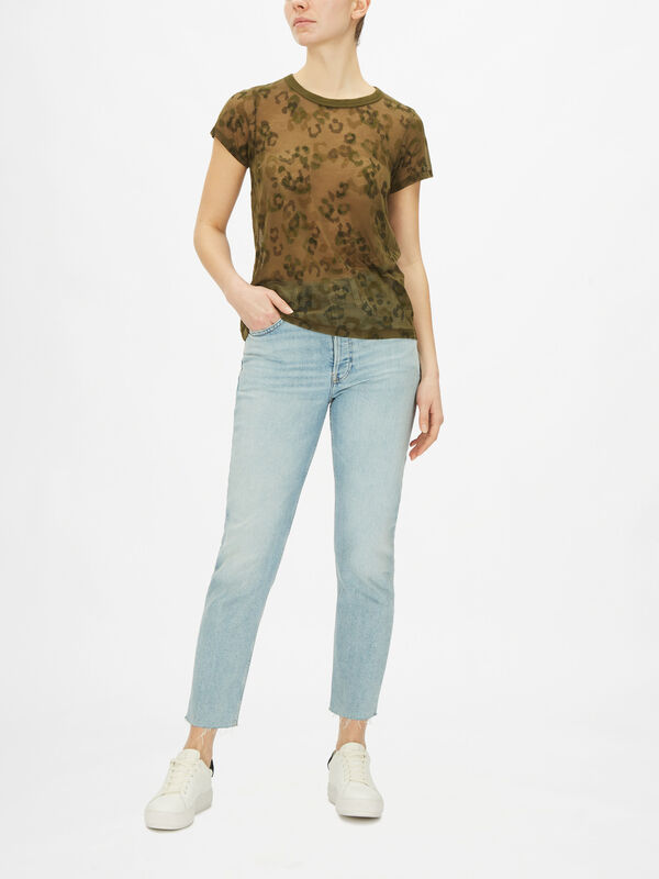 All Over Cheetah Tee