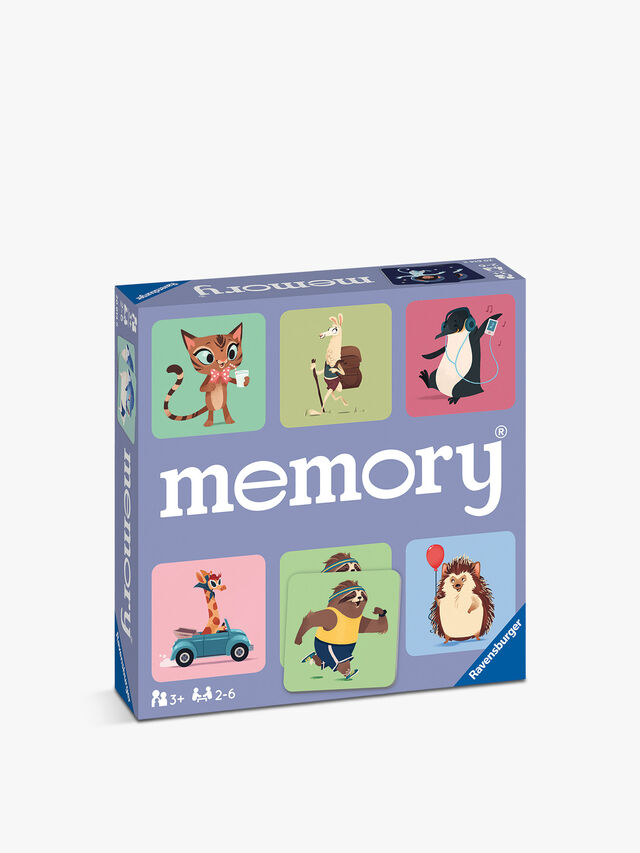 Happy Animals Large Memory Game