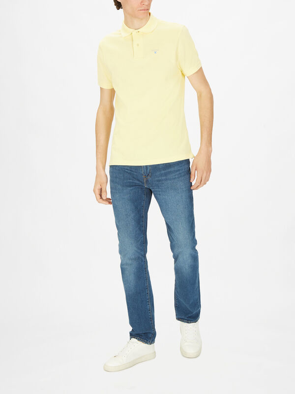 Tailored Tartan Pique Polo Shirt
